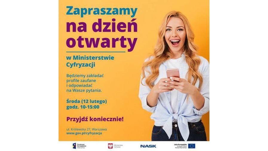 Dzień otwarty w Ministerstwie Cyfryzacji