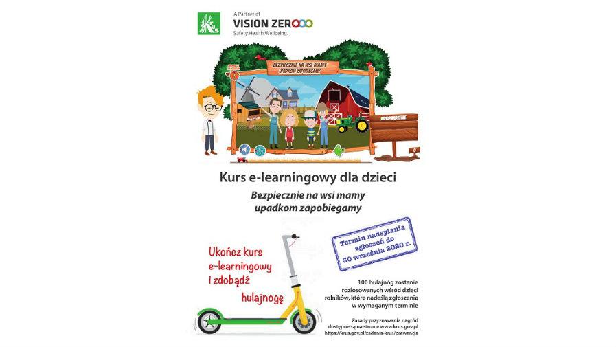Czy znasz zasady bezpiecznego przebywania w gospodarstwie rolnym? Sprawdź swoją wiedzę i wygraj jedną ze 100 hulajnóg.