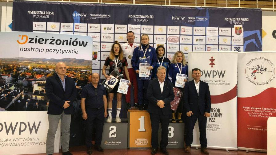 Podwójne złoto Aleksandry Wólczyńskiej na Mistrzostwach Polski