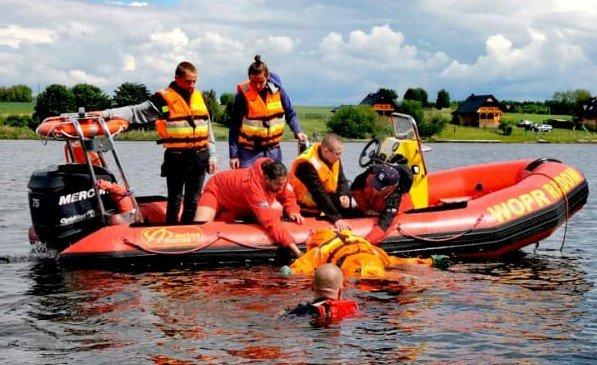 Na terenie MGOSiR w Iłży odbędą się ćwiczenia z zakresu ratownictwa wodnego